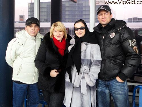 Актеры театра Екатерина Стриженова,Андрей Чернышов и Виктор Супрун